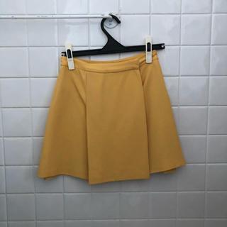 miumiu - miumiu シャーベットイエロー スカート