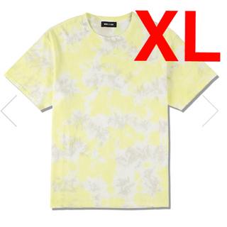 シー(SEA)のWDS TIE DYE T SHIRT  LIME YELLOW XL 送料込(Tシャツ/カットソー(半袖/袖なし))