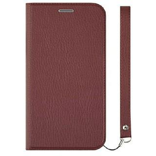Simplism iphonexs x ケース 手帳型 赤 レッド レザー 牛革