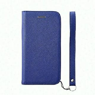 Simplism iphonexs x ケース 手帳型 青 ブルー