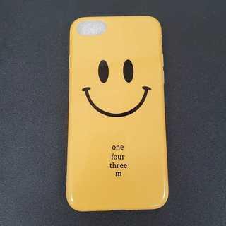 iPhone6/6s イエロー 黄色 スマイリー 可愛い スマホケース