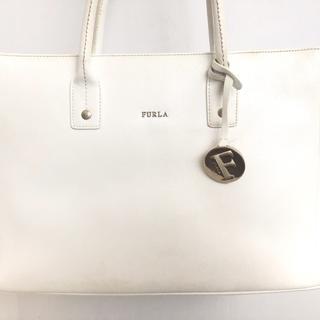 Furla - FURLA(フルラ) トートバッグ - 白 レザー