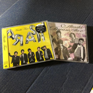 """アラシ(嵐)の嵐 アルバム2枚 「Time」「Dream""""A""""live」(ポップス/ロック(邦楽))"""