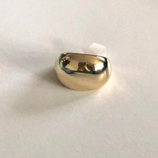 カスタネ(Kastane)のlattice リング☺︎ぷっくり ぷっくりリング ゴールド ゴールドリング(リング(指輪))