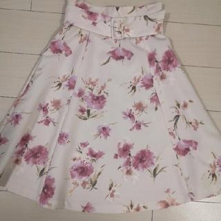 PROPORTION BODY DRESSING - プロポーション 花柄 スカート