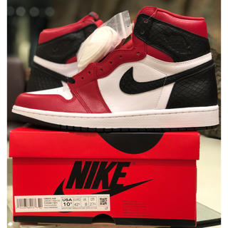 NIKE - 27.5 AIR JORDAN 1 SATIN RED サテンレッド BRED