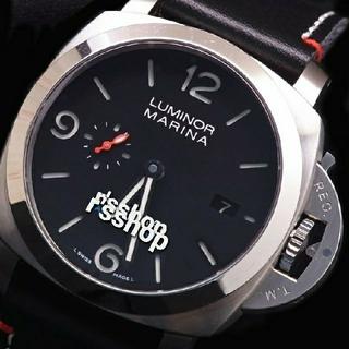 パネライ(PANERAI)の2017年 SF製 驚愕の短針単独稼動 P.9010 自動巻 732 Team (腕時計(アナログ))