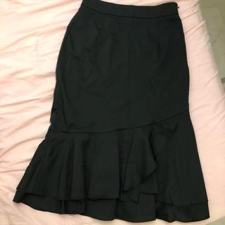 レディー(Rady)のミコアメリ マーメイドスカート ブラック(ひざ丈スカート)