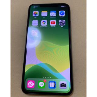 アップル(Apple)の超美品!iPhone11 pro max グレー 64GB simフリー(スマートフォン本体)