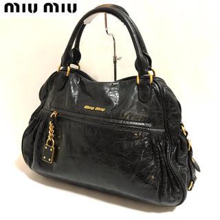 miumiu - 【正規品】miumiu ✨ミュウミュウ ハンドバッグ