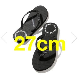 シー(SEA)の27cm【新品】SATURDAYS SURF × WDS ビーチサンダル(ビーチサンダル)