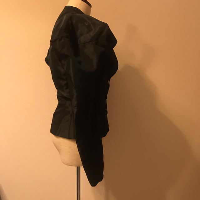 Vivienne Westwood(ヴィヴィアンウエストウッド)のインポート vivienne westwood パフスリーブ  ジャケット レディースのジャケット/アウター(テーラードジャケット)の商品写真