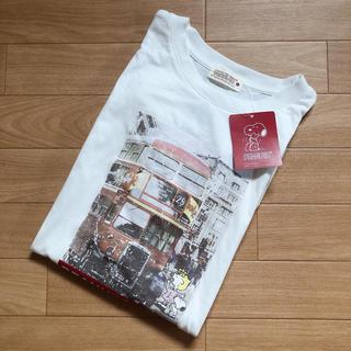 PEANUTS - 【新品・タグ付】サイズL*ピーナッツ スヌーピー 半袖 Tシャツ 転写プリント