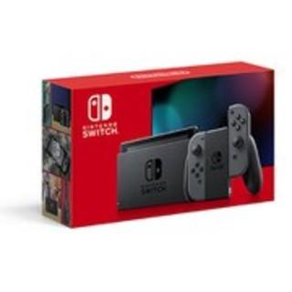 任天堂 - 新品 Nintendo Switch 本体 ニンテンドースイッチ グレー 新型