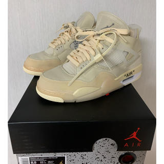 NIKE - 美品 Off-White × Nike Air Jordan 4 25.5cm