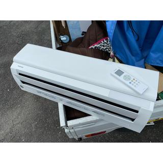 東芝 - 2019年製 東芝 室外機も送料込 6畳用 冷暖房 エアコン クーラー