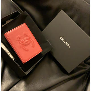 シャネル(CHANEL)のシャネル CHANEL ミニ財布 ミニウォレット 三つ折り財布(折り財布)
