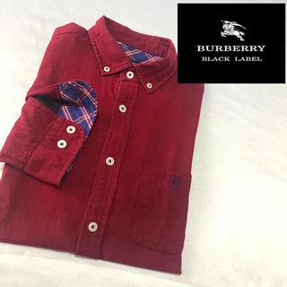 BURBERRY - Burberry black label シャツ バーバリーブラックチェック