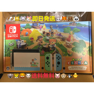 Nintendo Switch - 即日発送!Nintendo Switch あつまれ どうぶつの森 セット