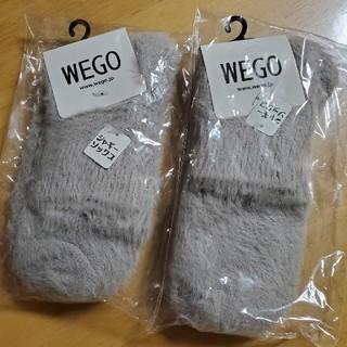 WEGO - WEGO レディースソックス 二足セット