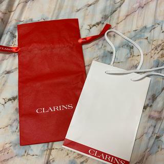 クラランス(CLARINS)のCLARINS ショップ袋 ラッピング(ショップ袋)