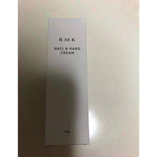 アールエムケー(RMK)のRMK ネイル&ハンドクリームLC ハンドケア 新品(ハンドクリーム)