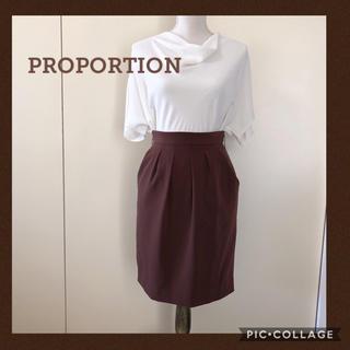 PROPORTION BODY DRESSING - プロポーション ボディドレッシング タイトスカート