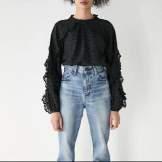 moussy - moussy  EMBROIDED LACE BLOUSE
