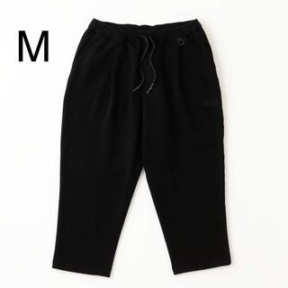 1LDK SELECT - SEESEE MUNI LOGO CROPPED SWEAT PANTS 黒 M