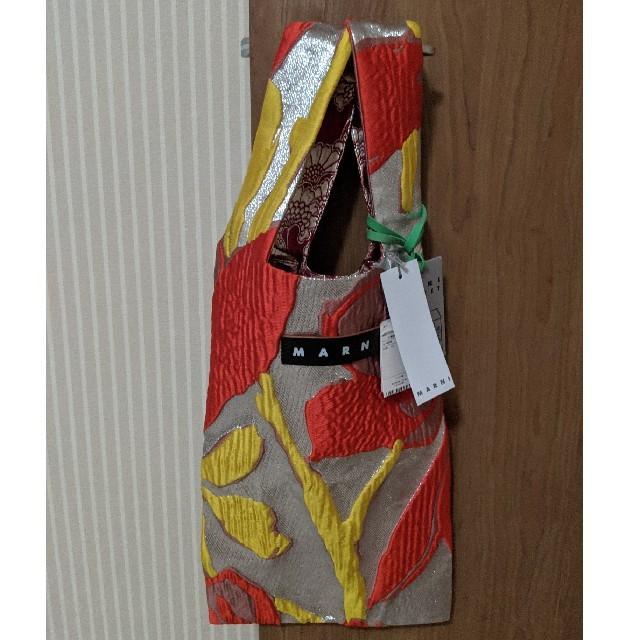 Marni(マルニ)の新品タグ付 マルニ フラワーカフェ エコバッグ レディースのバッグ(トートバッグ)の商品写真