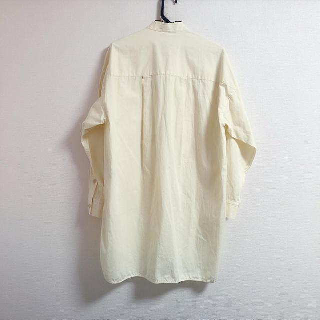 ENFOLD(エンフォルド)のnagonstans ナゴンスタンス  サファリオーバーシャツ enfold レディースのトップス(シャツ/ブラウス(長袖/七分))の商品写真
