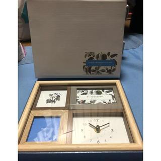 Francfranc - 時計付きフォトフレーム