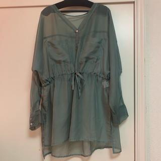 heather - heather♡Sスリットスケシャツ