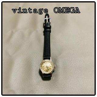 オメガ(OMEGA)のオメガ、カットガラス腕時計、シルバー(腕時計)