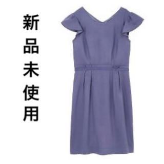 プロポーションボディドレッシング(PROPORTION BODY DRESSING)のプロポのテンセルドビーワンピース(ひざ丈ワンピース)