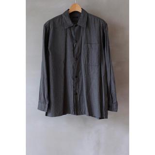 COMOLI - COMOLI コモリ 20AW ヨリ杢 オープンカラーシャツ サイズ 1 新品