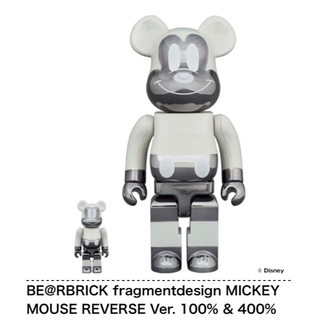 メディコムトイ(MEDICOM TOY)のBE@RBRICK MICKEY MOUSE Ver. 100% & 400%(その他)