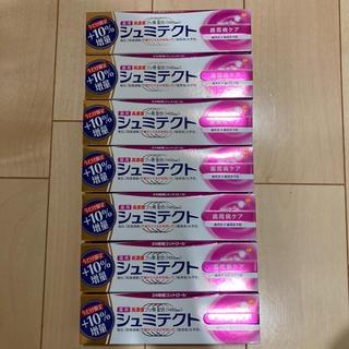 アースセイヤク(アース製薬)のシュミテクト 10%増量タイプ 99g  7本セット(歯磨き粉)