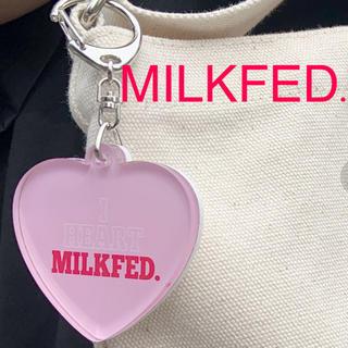 ミルクフェド(MILKFED.)の「新品」MILKFED. I HEART MILKFED. KEYCHAIN(キーホルダー)
