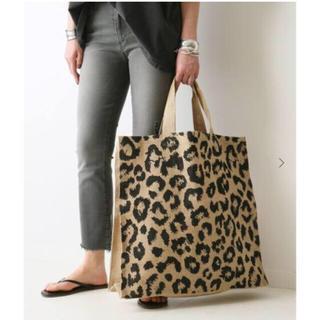 ドゥーズィエムクラス(DEUXIEME CLASSE)のドゥーズィエムクラス メゾンベンガル Leopard BAG(トートバッグ)