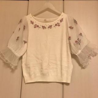 ロディスポット(LODISPOTTO)の刺繍ニット(ニット/セーター)