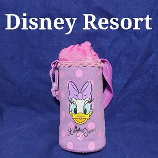 Disney - ディズニーリゾート デイジー ペットボトル ホルダー 中古