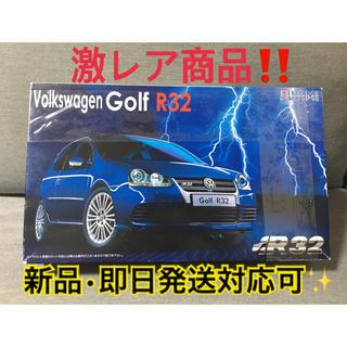 フォルクスワーゲン(Volkswagen)のフジミ フォルクスワーゲンゴルフR32 カーモデル 1/24(模型/プラモデル)