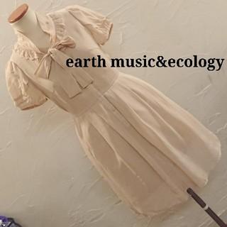 earth music & ecology - アースミュージック&エコロジー ワンピース 一回着用