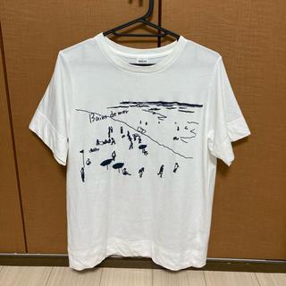 パーリッシィ(PAR ICI)の海水浴Print Tシャツ(Tシャツ(半袖/袖なし))