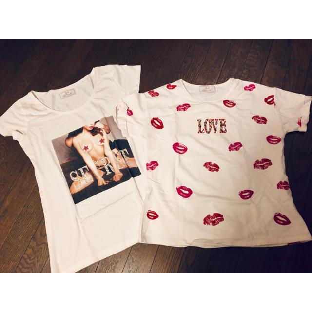 Rady(レディー)のRady Tシャツ 2枚セット レディースのトップス(Tシャツ(半袖/袖なし))の商品写真