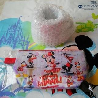 Disney - ディズニーリゾート ベリーベリーミニースーベニアポーチ&スーベニアカップセット