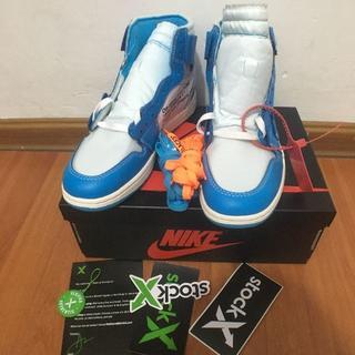 NIKE - NIKE x OFF-WHITE Air Jordan 1 UNC 27CM