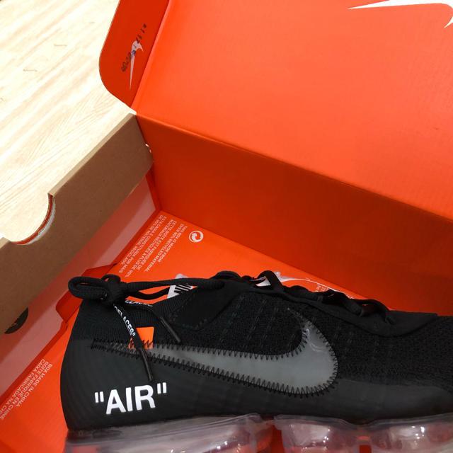 OFF-WHITE(オフホワイト)のTHE 10:NIKE AIR VAPORMAX FK off-white メンズの靴/シューズ(スニーカー)の商品写真
