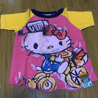 ジャム(JAM)のJAM×キティコラボ Tシャツ 90(Tシャツ/カットソー)